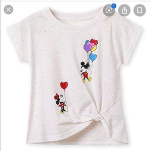 Disney Mickey And Minnie Size 2/3 Balloons Tee 🎈